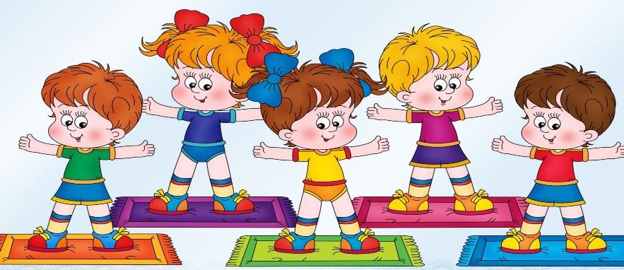 Ребенок на физкультуре рисунок